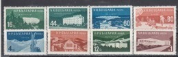 Bulgaria 1958 - Bulgarian Spa Homes And Places(1+2), Mi-Nr. 1048/51+1069/72, MNH** - Ungebraucht