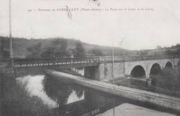 CPA - ENVIRONS DE PASSAVANT (HAUTE-SAÔNE) - LE PONT SUR LE CANAL ET LE CÔNEY - Other Municipalities