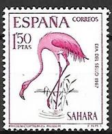 Spanish Sahara - MNH ** 1967 :   Greater Flamingo  -  Phoenicopterus Roseus - Flamingo