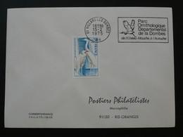 Flamme Concordante Parc Ornithologique Villars Les Dombes 01 Ain 1975 - Mechanical Postmarks (Advertisement)