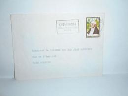 Brief Verzonden Van Charleroi Met Reclamestempel - Lettres & Documents