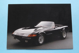 FERRARI DAYTONA - 34761 - Photo By Zumbrunn ( Top Ten Card - 1987 Verkerke ) Anno 19?? ( Voir / See Photo ) ! - PKW