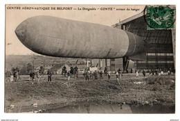Centre Aèronautique De Belfort - Le Dirigeable CONTE Sortant Du Hangar - Belfort - City