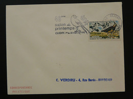 Série Oiseaux Sur 4 Lettres Avec Flammes Concordantes Clichy 92 Hauts De Seine 1970 - Mechanical Postmarks (Advertisement)