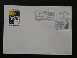 Flamme Concordante Année Du Patrimoine Saint-André 974 Réunion 1980 - Mechanical Postmarks (Advertisement)