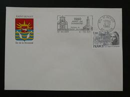 Flamme Concordante Année Du Patrimoine Saint-Benoit 974 Réunion 1980 - Mechanical Postmarks (Advertisement)