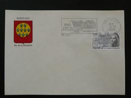 Flamme Concordante Année Du Patrimoine Saint-Leu 974 Réunion 1980 - Mechanical Postmarks (Advertisement)