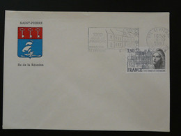 Flamme Concordante Année Du Patrimoine Saint-Pierre 974 Réunion 1980 - Mechanical Postmarks (Advertisement)