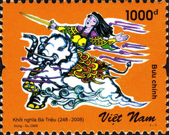 Vietnam 2313 Héroïne à Dos D'éléphant - Fairy Tales, Popular Stories & Legends