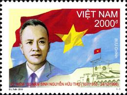 Vietnam 2355/56 Hommes Politiques, Communisme, Avocat, Drapeau - Unclassified