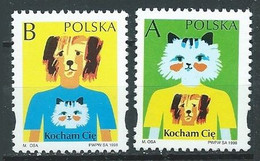 Pologne YT N°3474/3475 Timbres De Salutations Neuf ** - Ungebraucht