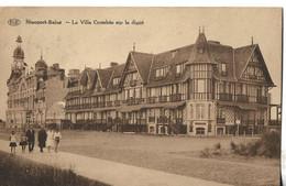 Nieuport-Bains - La Villa Crombée Sur La Digue / 1930 - Nieuwpoort