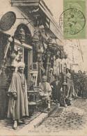Bazar Arabe Lampes Lamp     Tunisie Envoi à Dreveton Voreppe Texte Contrefaçon Fabriqué à Lyon Pour Touristes - Mercanti