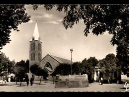 ALGERIE - VIALAR - PLACE DE L'EGLISE ET JUSTICE DE PAIX - Altre Città