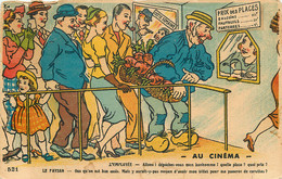 HUMOUR - AU CINEMA - L'EMPLOYEE - LE PAYSAN - Humour