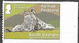 SOUTH GEORGIA, 2020, MNH,  DEFINITIVES, SEALS,1v S/A Ex. BOOKLET - Altri