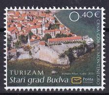 MONTENEGRO 2021,OLD TOWN BUDVA,TURISMUS,,MNH - Montenegro