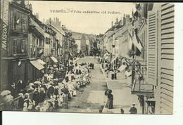 70 - Haute Saone - Vesoul - Fete Enfantine - 14 Juillet  - Animée - - Vesoul