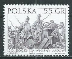 Pologne YT N°3484 Révolution De Mars 1848 Neuf ** - Ungebraucht