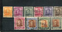 Nouvelle-Zélande 1947 Yt 285-294 - Used Stamps