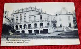 BOITSFORT -    Maison Haute  -  1905 - Watermael-Boitsfort - Watermaal-Bosvoorde
