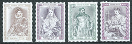 Pologne YT N°3485/3488 Rois, Reines Et Princes Polonais Neuf ** - Ungebraucht