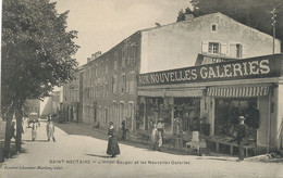 Les Nouvelles Galeries Saint Nectaire Et Hotel Bauger Vente Cartes Postales Deltiologie Cartophilie Deltiology - Mercanti