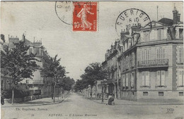 58  Nevers  - L'avenue Marceau - Nevers