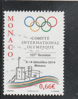 MONACO 2014 COMITE INTERNATIONAL OLYMPIQUE  OBLITERE YT 2950 - Used Stamps