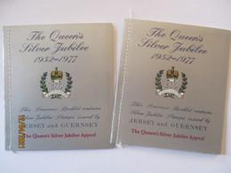 Queen Elizabeth Silver Jubilee 1977, 2 Xx MH Jersey Guernsey (62006) - Guernsey