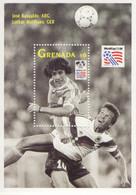 Grenada  -  Football World Cup 1994 -  JOSE BASUALDO (ARG) - LOTHAR MATTHAES (D)   -   1v  MS  -   Mint/Neuf/MNH - 1994 – Estados Unidos