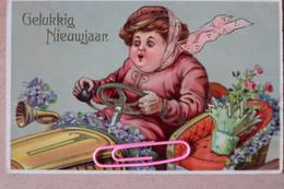Bonne Année ... Au Volant En 1911 - Turismo