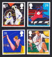 Great Britain Rugby Fencing Athletics Gymnastics Sport World Student Games 4v 1991 MNH SG#1564-1567 SC#1378-1381 - Nuovi