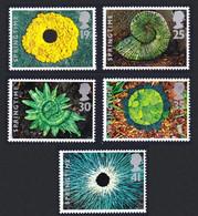 Great Britain Fossils The Four Seasons Springtime 5v 1995 MNH SG#1853-1857 SC#1591-1595 - Nuovi