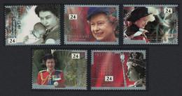 Great Britain 40th Anniversary Of Accession 5v 1992 MNH SG#1602-1606 - Nuevos