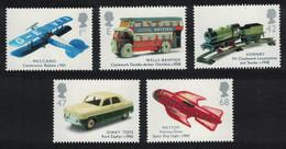 Great Britain Classic Transport Toys 5v 2003 MNH SG#2397-2401 SC#2153-2157 - Nuovi