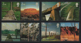 Great Britain World Heritage Sites 4 Pairs 2005 MNH SG#2532-3539 - Nuovi