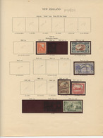 Used Stamps, NEW ZEALAND Lot From 1940 To 1946  (Lot 884) - 4 Scans - Used Stamps