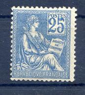 TYPE MOUCHON N° 118 NEUF* Charnière - 1900-02 Mouchon