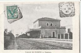 Cartolina - Postcard / Viaggiata - Sent /  Valle Di Pompei - Stazione - Pompei