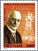 Vietnam 2454 Ingénieur Germany, Rudolf Diesel, Moteur à Combustion, Automobile - Unclassified