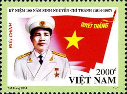 Vietnam 2458, 2478/79 Et 2485 Militaires, Drapeau - Militaria