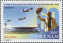 Vietnam 2503 Aviation Civile - Airplanes