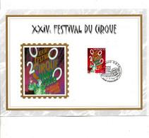 MONACO DOCUMENT FDC 1999 FESTIVAL DU CIRQUE - FDC