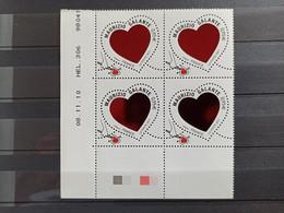 N°4529 - Coin Daté - Saint-Valentin - Coeur Du Couturier Mauzizio Galante - 2010-....