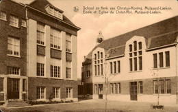 België - Mutsaard Laeken - School Kerk Christus Koning - 1946 - Non Classificati