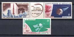 W-17 St.Pierre Et Miquelon PA N° 34A à 35 **  (petites Pites De Rouille) à 10 % De La Côte A Saisir !!! - Nuovi