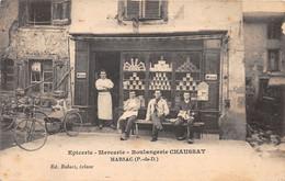 MARSAC EN LIVARDOIS - épicerie, Mercerie, Boulangerie CHAUSSAT - Otros Municipios