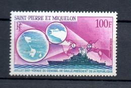 W-17 St.Pierre Et Miquelon PA N° 39 ** (petites Pites De Rouille) à 10 % De La Côte  A Saisir !!! - Nuovi