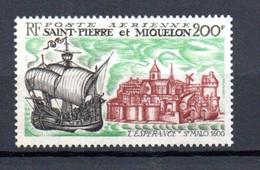W-17 St.Pierre Et Miquelon PA N° 46 **  A Saisir !!! - Unused Stamps